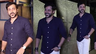 Emraan Hashmi Spotted Late Night Outside At Ottesrs Club In Mumbai | Bollywood News 2018