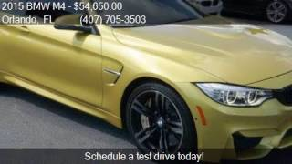2015 BMW M4 Base 2dr Coupe for sale in Orlando, FL 32807 at