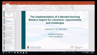 Blended Learning- Fusing Library & Educational Technology. Pt2