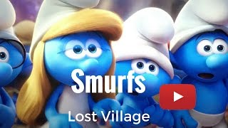 SMURFS: The lost Village 2017 with Kids Adventures with Sweetie Fella Aleks