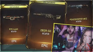 LUCKIEST SUPPLY DROP OPENING EVER!! (NEW BO3 SNIPER & WEAPONS)