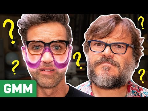 Testing Mystery Objects GAME Ft. Jack Black