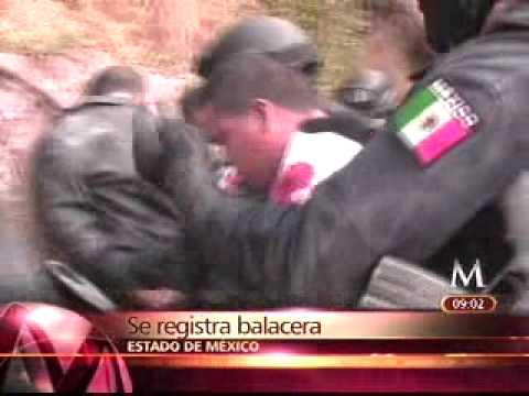 INCREIBLE TIROTEO EN EL ESTADO DE MEXICO CON INTEGRANTES DE LA FAMILIA