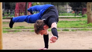 Andrea Larosa. Calisthenics Workout 2015
