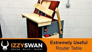 Extreme Router Table Build | How To Woodworking