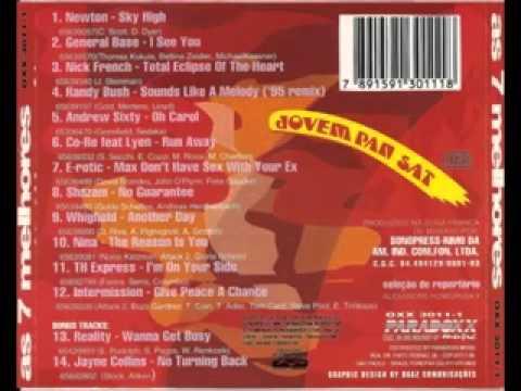 As 7 Melhores da JP Jovem Pan Vol. 2 Eurodance anos 90 completo