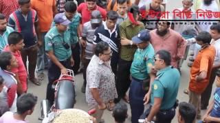 *Must watch* Bangladeshi police abusing his power