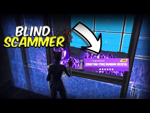 Xxx Mp4 Blind Scammer Loses 1000 Rainbow Scammer Gets Scammed Fortnite Save The World 3gp Sex
