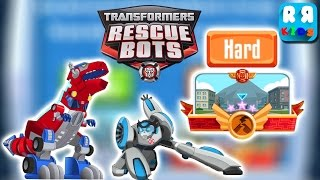 Transformers Rescue Bots: Disaster Dash - Try in Hard Mode with Quick Shadow and Optimus Prime
