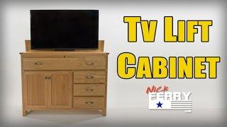 Ⓕ Making A TV Lift Cabinet w/ Secret Compartment (ep63)
