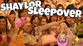 My First Official Event!!! | SHAYLOR SLEEPOVER in Tokyo