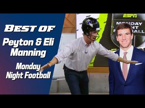 Best of Peyton & Eli Manning on Monday Night Football