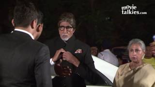 Amitabh Bachchan And Rekha Together At Ronnie Screwvala