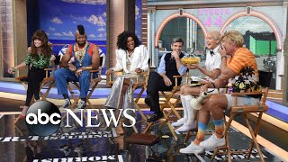 'GMA' anchors celebrate Halloween with 80s TV-themed costumes