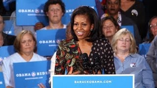 We Go On the Campaign Trail With Michelle Obama