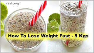 How To Lose Weight Fast - 5kg | Fat Cutter Drink | Fat Burning Morning Routine