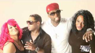 Bobby V, 50 Cent & Pinky Live - Altered Ego Video Shoot 2010