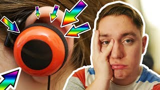 Worst Headphones in the WORLD!! TheMusicVlogger