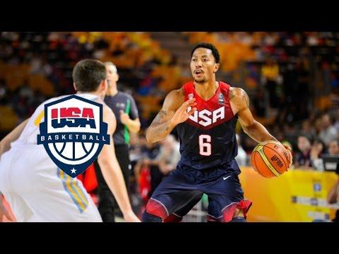 Team USA Full Highlights vs Ukraine