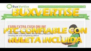 Buxvertise – PTC con Ruleta Incluida - GDxInternet