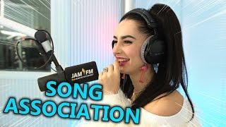 Ilira Singt Raf Camora, Ariana Grande, Dynoro & Shawn Mendes | Song Association ⚡ JAM FM