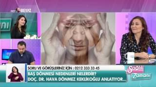 Doç. Dr. Hava Dönmez Keklikoğlu - Beyaz Tv Sağlık Zamanı