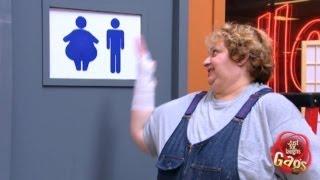 لمجرد الضحك: حمّام امرأة سمينة