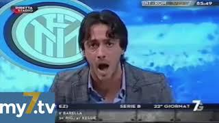 "DirettaStadio 7Gold Inter Roma 1-1 Filippo Tramontana nervosissimo: ""MA DAI DAI !!"""