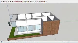Desain rumah minimalis di lahan kavling 6x12 meter