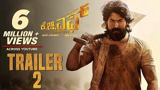 #KGF Official Trailer 2 Kannada   Yash   Srinidhi Shetty   Prashanth Neel   Vijay Kiragandur