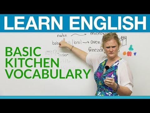 Learn English: Basic Kitchen Vocabulary
