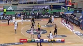 Παναθηναϊκός - ΑΕΚ 81-72