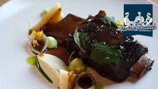 Braised short rib of beef with tarragon emulsion recipe
