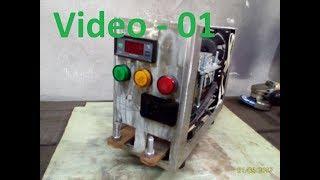 Como fazer um aparelho para solda ponto com transformador de microondas - parte 01