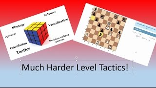 Advanced and Beyond Level (2300-2530) Chess Tactics and Explanations!