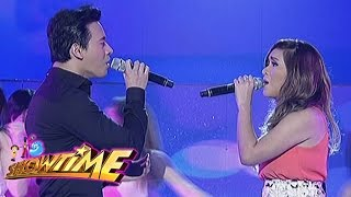 Eric, Angeline sing
