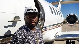 50 Cent ''I Went From Bankruptcy To Buying Myself A New $20m Private Jet''