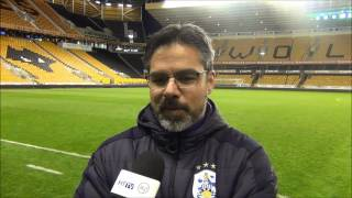INTERVIEW: David Wagner was proud after Huddersfield Town's 1-0 win over Wolves