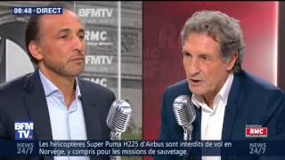 Interview Bourdin Direct RMC-BFMTV [02/06/2016] | Tariq Ramadan