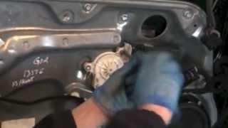 VW Golf Mk4 Window Regulator Replacement