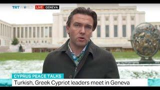 Cyprus peace talks: Turkish,Greek Cypriots leaders meet in Geneva