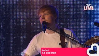 Ed Sheeran - 'Perfect' (Heart Live)