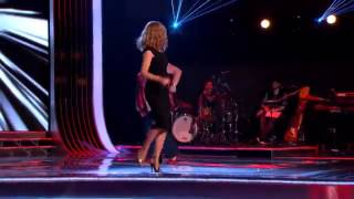 Kylie Minogue Dancing And Singing The Voice UK (Behand The Scene) (Can't Get You Out Of My Head)