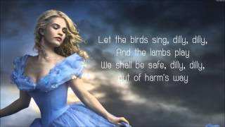 lavenders blue dilly dilly  lyrics cinderella 2015 movie soundtrack song