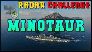 [Minotaur] no Smoke - Radar Challenge - World of Warships