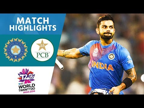 ICC #WT20 - India vs Pakistan  Match Highlights