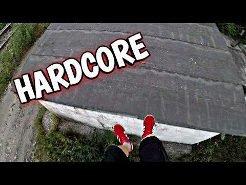 Xxx Mp4 PARKOUR ON GARAGES HARD TRAINING Hardcore XXX 3gp Sex