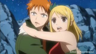 Lucy saves Loke