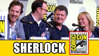 SHERLOCK Comic Con 2016 Panel Highlights (Pt1) - Benedict Cumberbatch, Mark Gatiss, Amanda Abbington