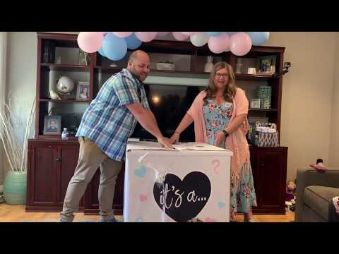 Awesome Gender Reveal with Surprise Twin Announcement